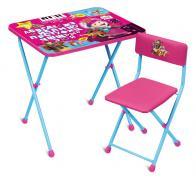"Foldable kids furniture set "" Masha and the Bear"" (арт. MMD2/MX)"